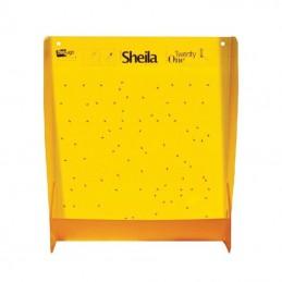 Náterový panel – žltý 50x50 cm